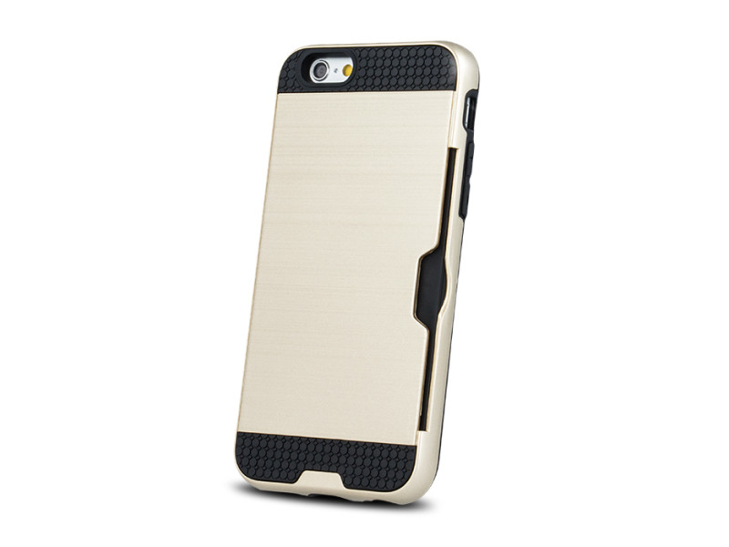 Defender Card case for iPhone 7 gold / iPhone 8