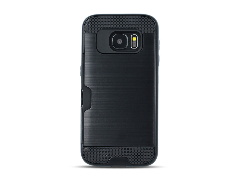 Defender Card case for iPhone 7 black / iPhone 8