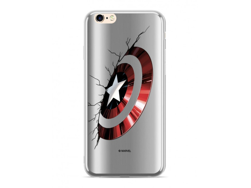 CASE LUXURY CHROME Captain America για HUAWEI P30 Silver