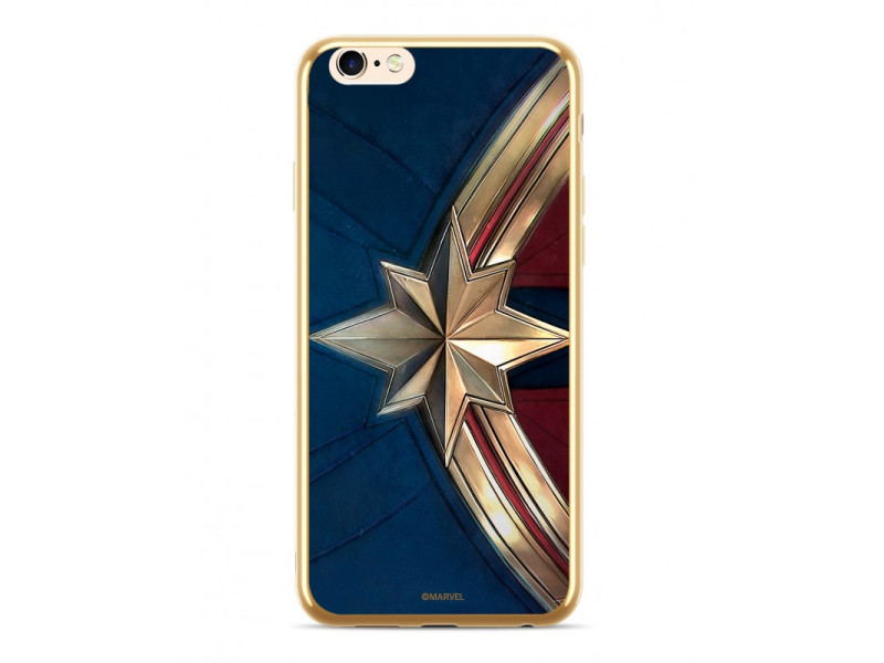 CASE LUXURY CHROME Captain Marvel για HUAWEI P30 Golden
