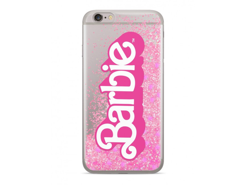 CASE OVERLAY LIQUID GLITTER Barbie για SAMSUNG S7/ G930 Pink