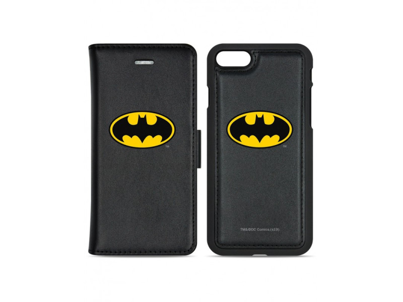 CASE OVERLAY MAGNETIC WALLET + CASE Batman για SAMSUNG S7 EDGE/ G935 Black