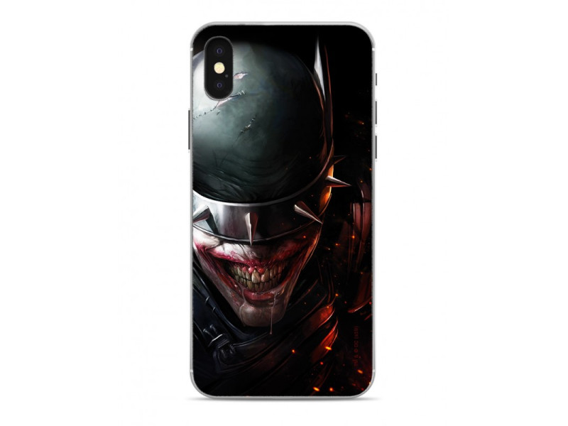 CASE OVERPRINT Batman Who Laughs για IPHONE X/ XS Black