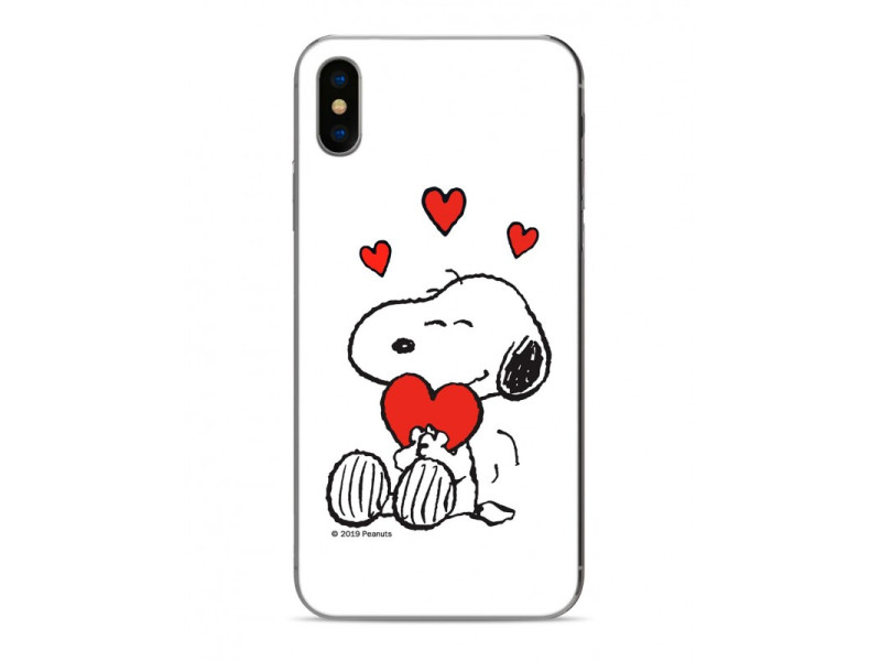 CASE OVERPRINT Snoopy για IPHONE X/XS White