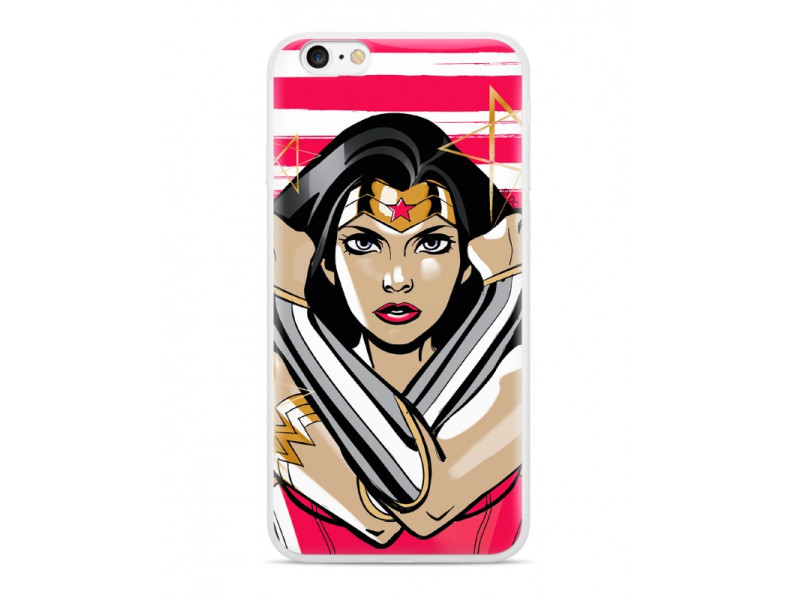 CASE OVERPRINT Wonder Woman για HUAWEI P20 LITE Red