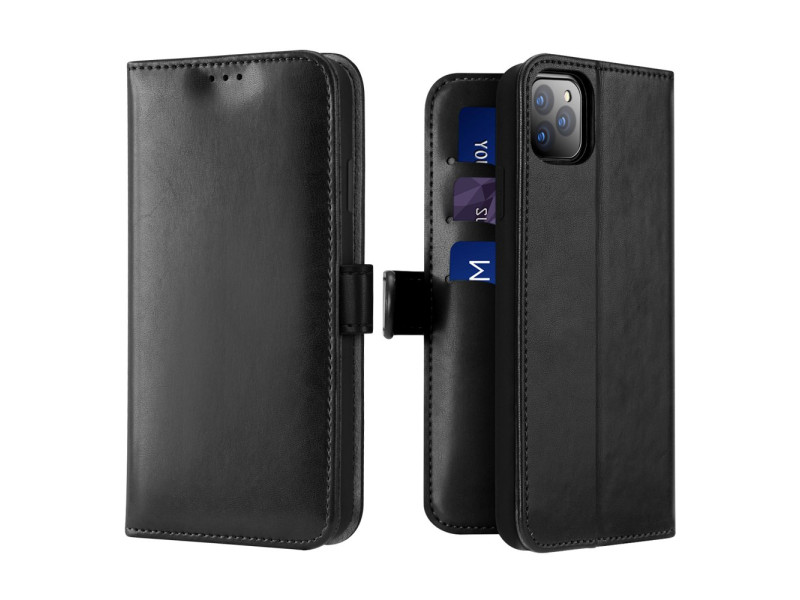 Dux Ducis Kado Bookcase wallet type case for iPhone 11 Pro Max black