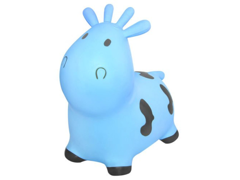 Jumping Rubber Jumper Inflatable Fudge Blue