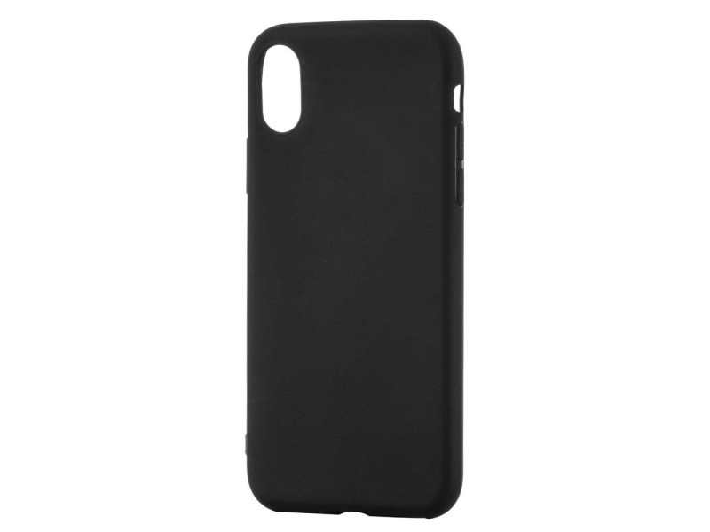 Soft Matt Case Gel TPU Cover for Xiaomi Redmi Note 8 black