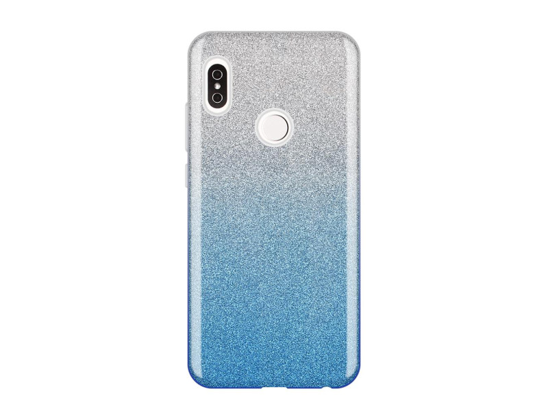 Wozinsky Glitter Case Shining Cover for Xiaomi Redmi Note 5 (dual camera) / Redmi Note 5 Pro blue