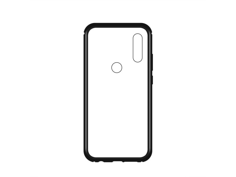 Wozinsky Magnetic Case Full Body Front and Back Cover for Xiaomi Redmi Note 7 black