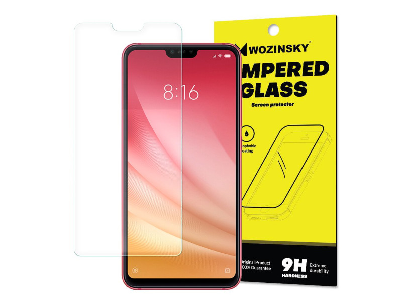 Wozinsky Tempered Glass 9H Screen Protector for Xiaomi Mi 8 Lite (packaging – envelope)