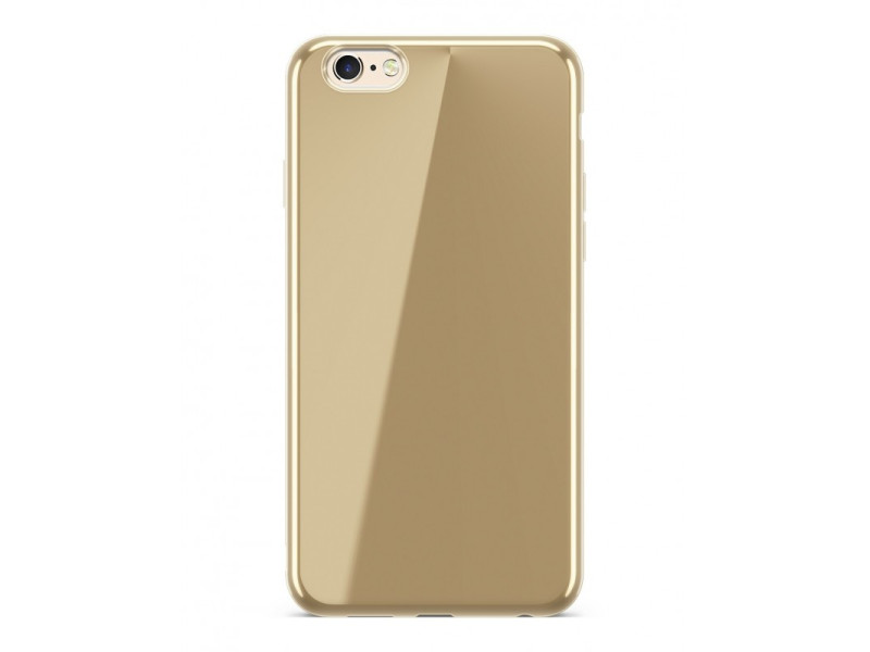 CASE LUXURY CHROME Full electro για HUAWEI P20 LITE Golden