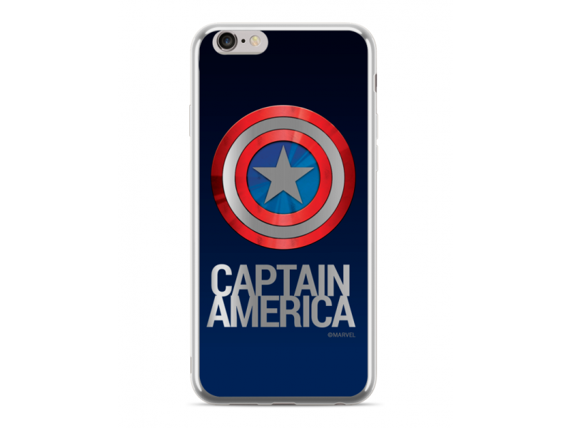 CASE LUXURY CHROME Captain America για HUAWEI MATE 10 LITE Silver
