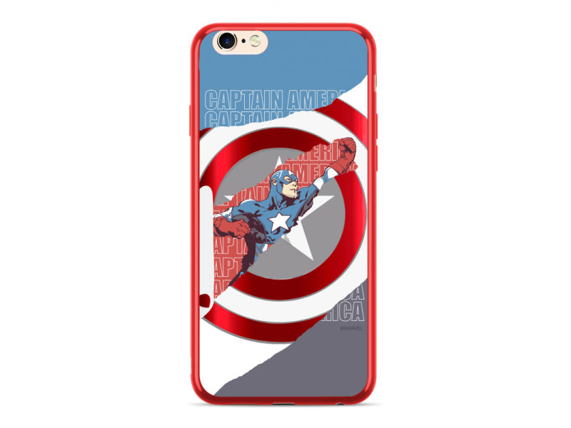 CASE LUXURY CHROME Captain America για HUAWEI MATE 20 LITE Red