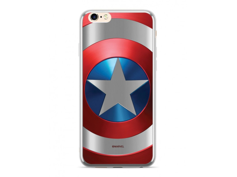 CASE LUXURY CHROME Captain America για HUAWEI MATE 20 LITE Silver