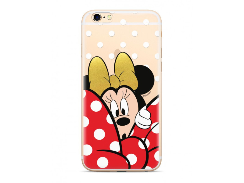 CASE OVERPRINT Minnie για SAMSUNG A7 2018 Transparent