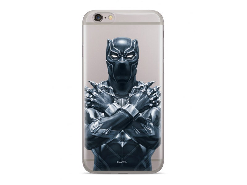 CASE OVERPRINT Black Panther για IPHONE X/ XS Transparent