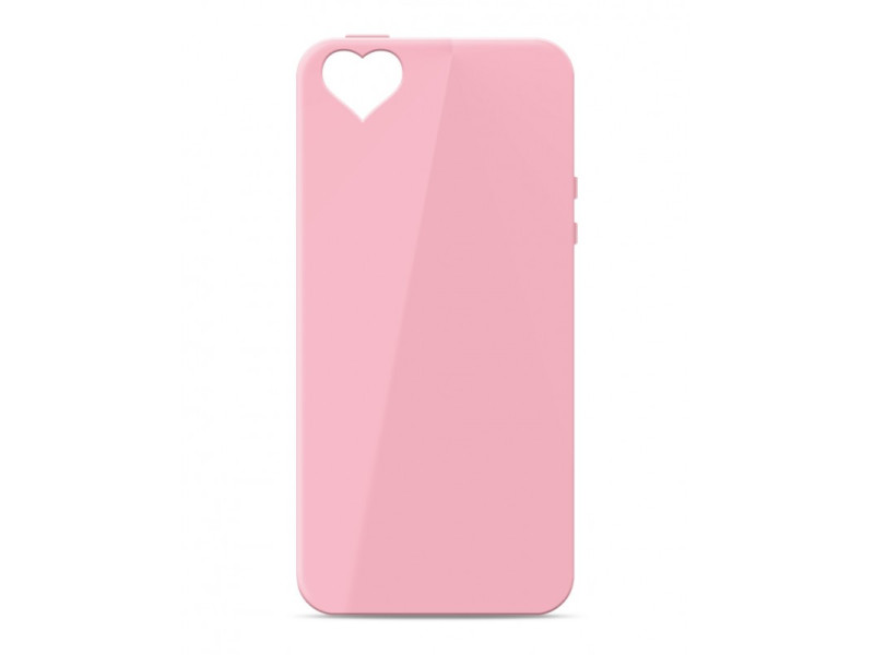 CASE OVERLAY Camera Heart για IPHONE 5/5S/SE Pink