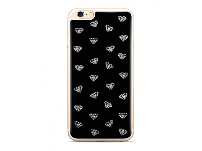 CASE OVERLAY LIQUID GLITTER Diamonds για IPHONE X/ XS Black