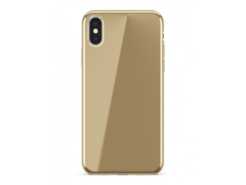 CASE OVERLAY Full electro για SAMSUNG NOTE 8 Golden