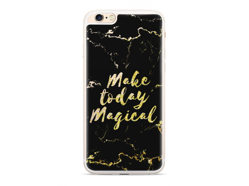CASE OVERLAY LIQUID GLITTER Marbled για SAMSUNG S7/ G930 Black