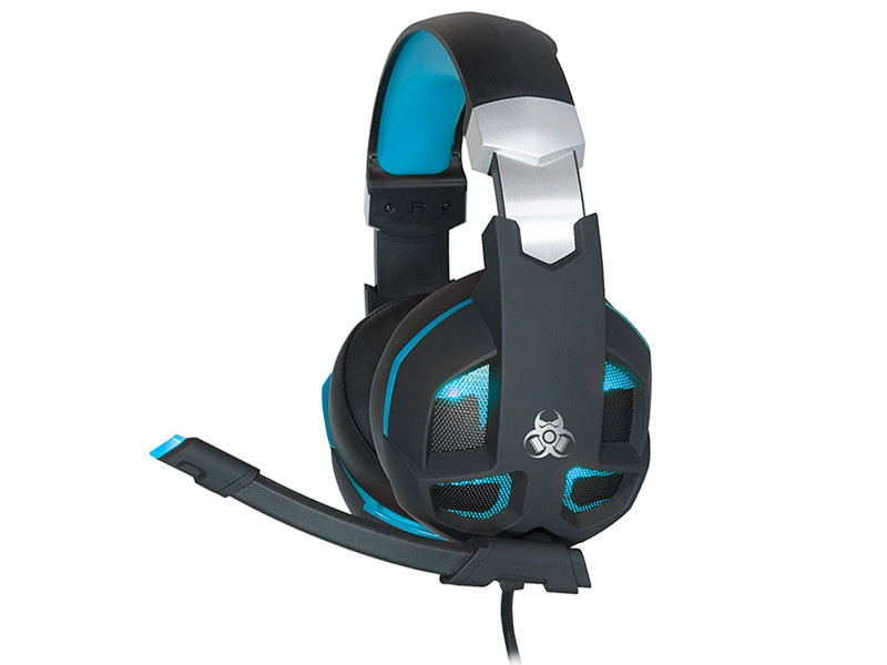 TRACER GAMEZONE Gaming headset Striker 2.0 Blue USB Ακουστικά