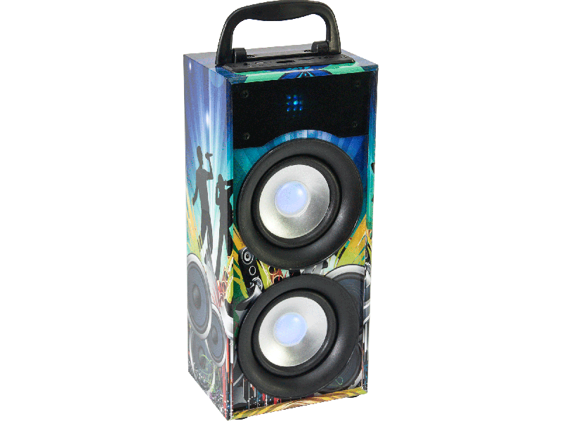 Party Light Sound PARTY-DISCO2 ενεργό ηχείο μπαταρίας με Bluetooth,USB,Micro-SD,FM 20W