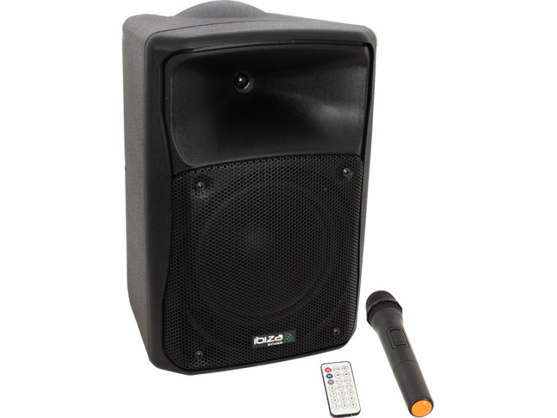 "IBIZA SOUND MOV8-CD ΦΟΡΗΤΟ BLUETOOTH ΗΧΕΙΟ 8""/ 20cm ΜΕ CD / USB / SD PLAYER"