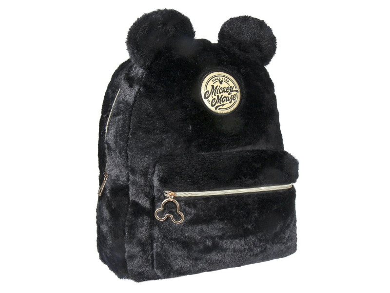 Mickey Mouse Backpack Χνουδωτό Σακίδιο Πλάτης