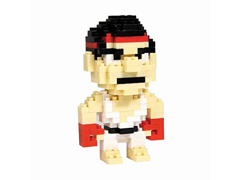 Street Fighter Ryu Pixel Bricks φιγούρα