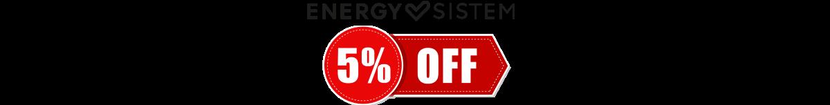 +5% μέχρι 01/02/2020 στα  Energy sistem